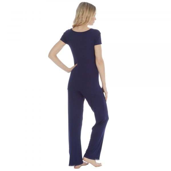 Ladies Lightweight Viscose Pyjama Set
