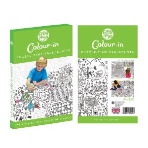Colour In Giant Poster Tablecloth