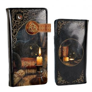 Black Witching Hour Cat Witch Purse