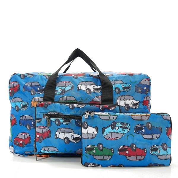 New 2020 Design Eco Chic Recycled Cabin Approved 30 Litre Foldable Holdall