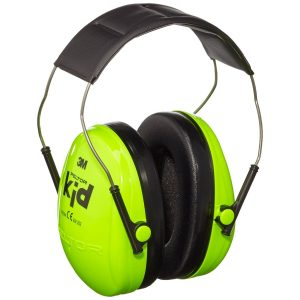 These 3M Peltor Ear Muffs have been especially designed for smaller head sizes and are adjustable to help find the perfect fit. They will help to protect the wearer's ears against moderate levels of noise in everyday situations.They're perfect for use in everyday situations including social and leisure activities.These earmuffs protect against moderate noise levels up to 27 dB.Their low-profile headband and the large space inside the ear cup makes them comfortable to wear.You can adjust the headband size to fit a wider range of users.They have a neon Green design, making them easy to see