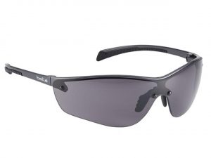 Bolle SILPPSF Silium Safety Spectacles Smoke Platinum