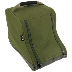 NGT Green Padded Deluxe Twin Zip Short Boot Bag