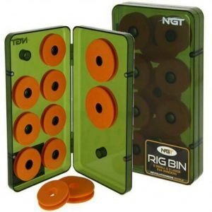 NGT Rig Bin With 8 Small and 3 Large EVA Winders