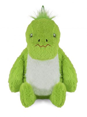 Hot Water Bottle with Novelty Plush Dinosaur Cover