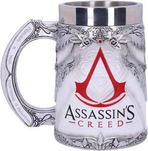 Assassins Creed White Game Tankard