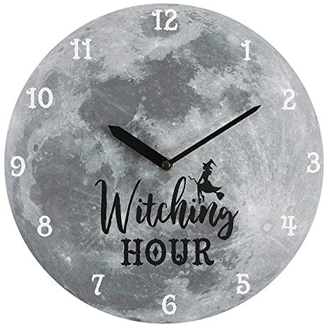 Witching Hour Moon Clock