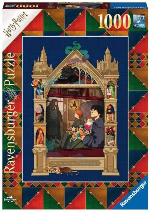 Jigsaw Puzzle HARRY POTTER ON THE WAY TO HOGWARTS