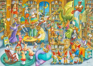 Jigsaw Puzzle MIDNIGHT AT THE LIBRARY