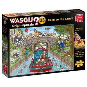 Jigsaw Puzzle Wasgij 33 CALM ON THE CANAL