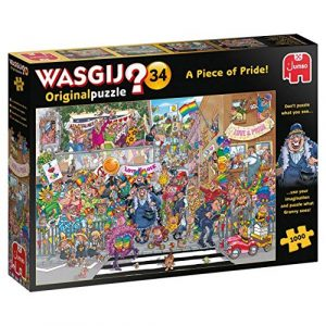Jigsaw Puzzle Wasgij 34 A PIECE OF PRIDE