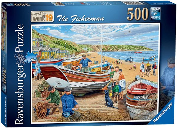 Jigsaw Puzzle THE FISHERMAN