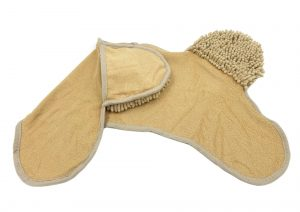 Microfiber Pet Drying Towel with Hand Pockets