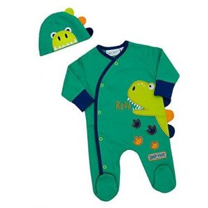 Sleepsuit with Matching Hat