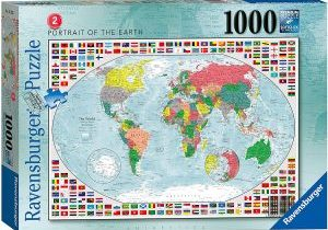 Jigsaw Puzzle PORTRAIT OF THE EARTH 2